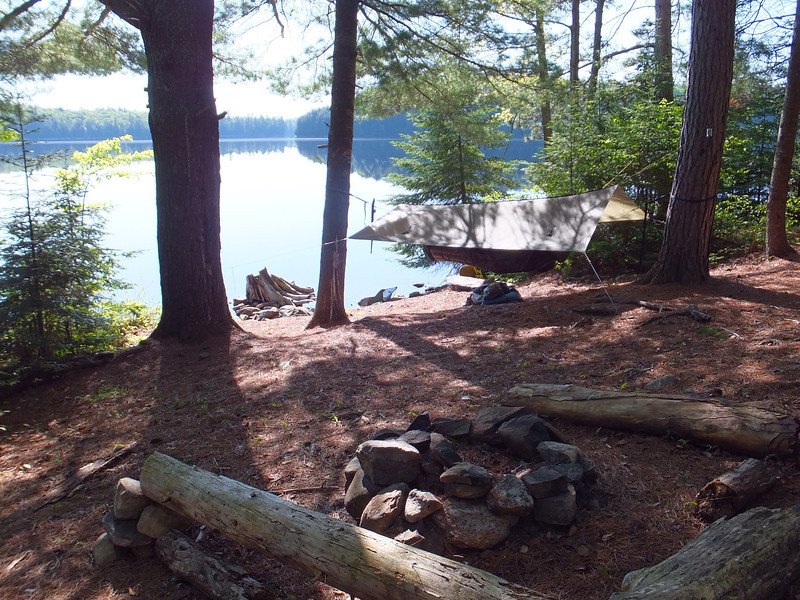Burnt Island campsite