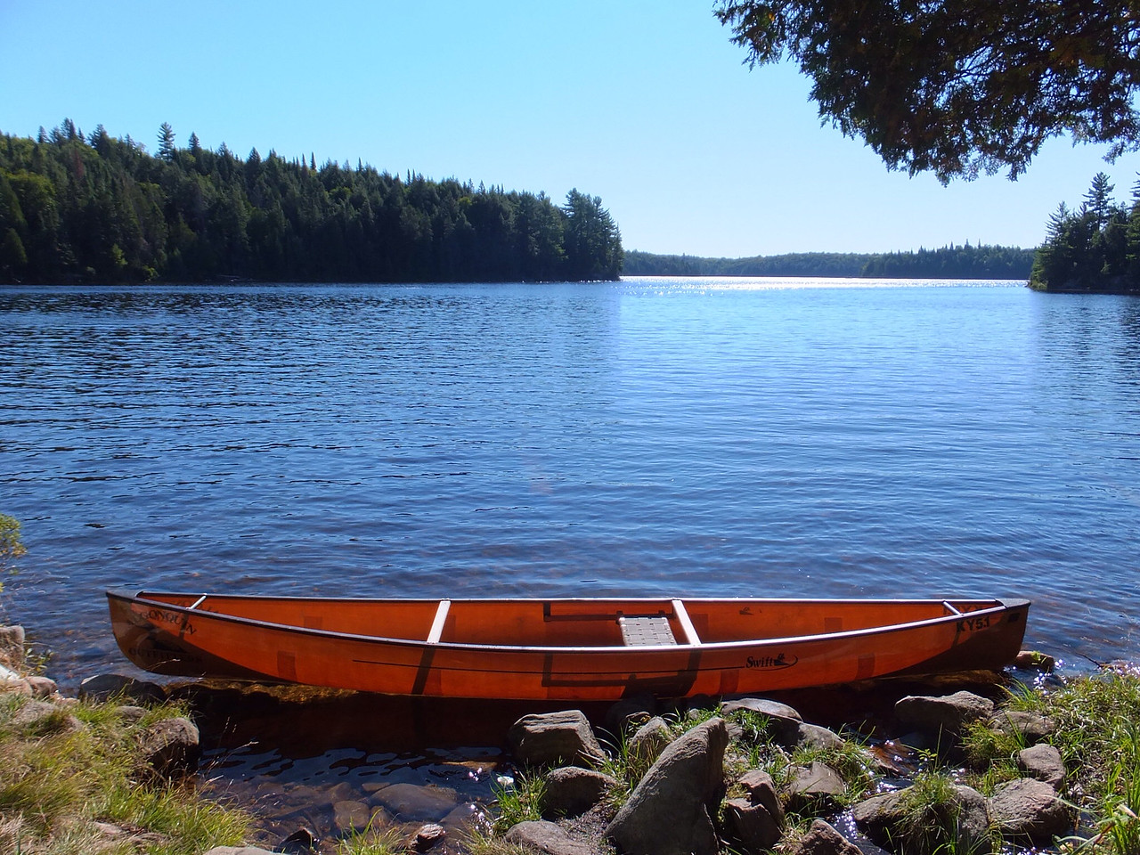 Keewaydin 15, designed by Dave Yost, built by Swift Canoe