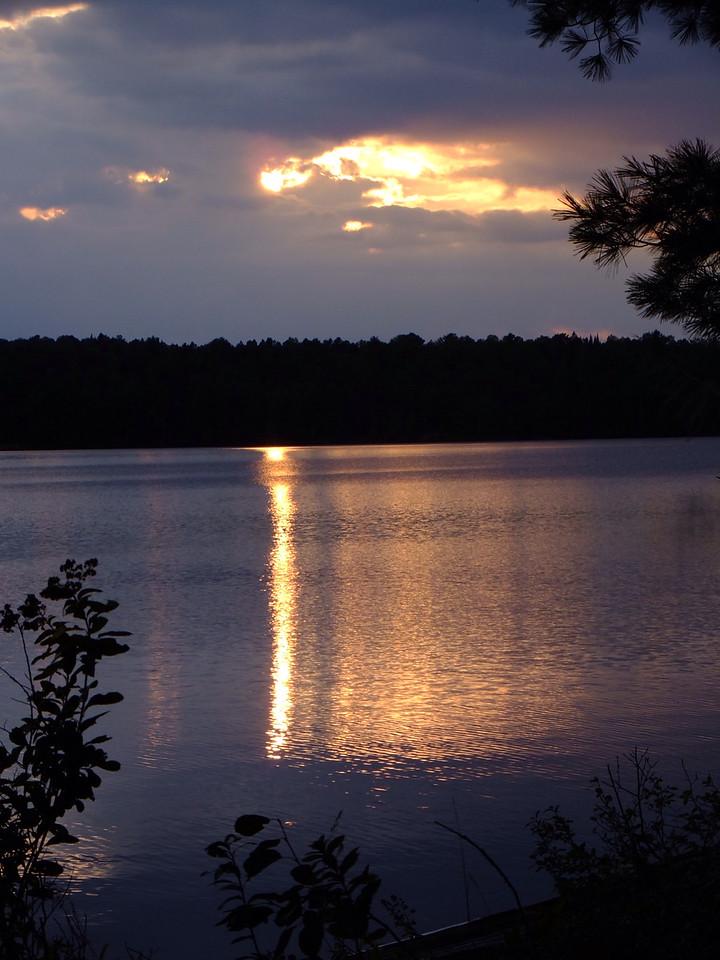 Evening, Tom Thomson Lake