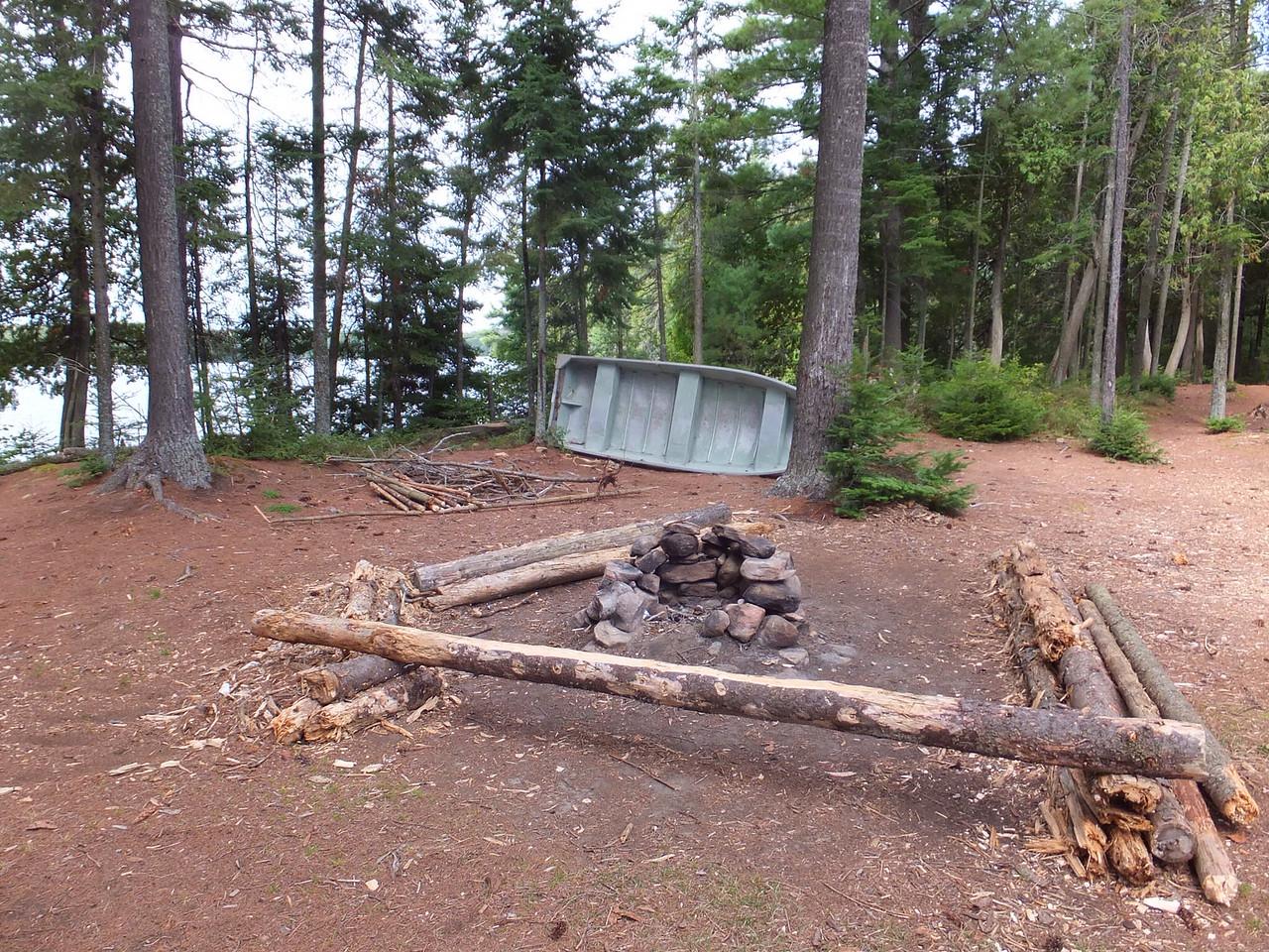 Campsite needs a make-over