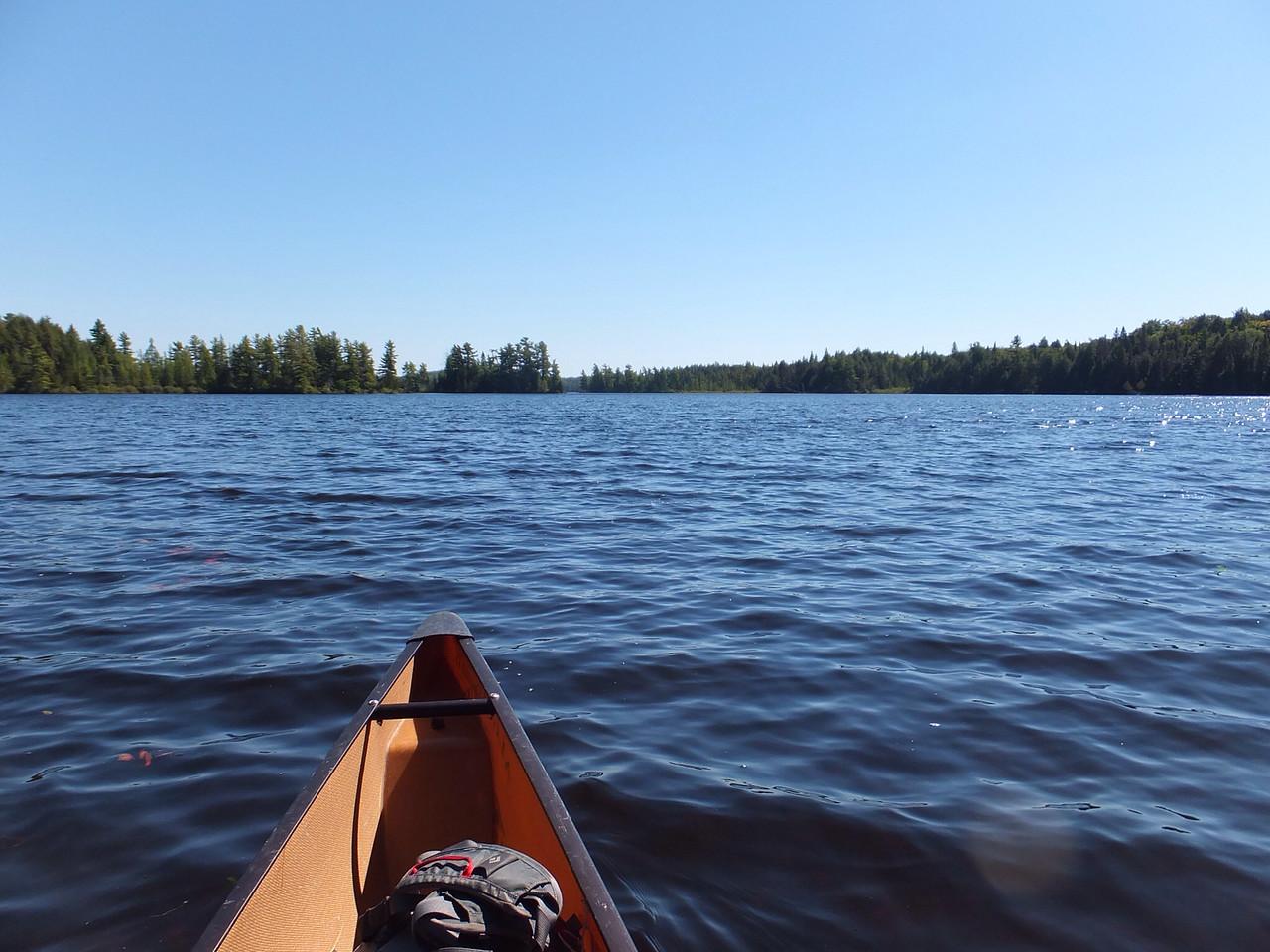Back on McIntosh Lake
