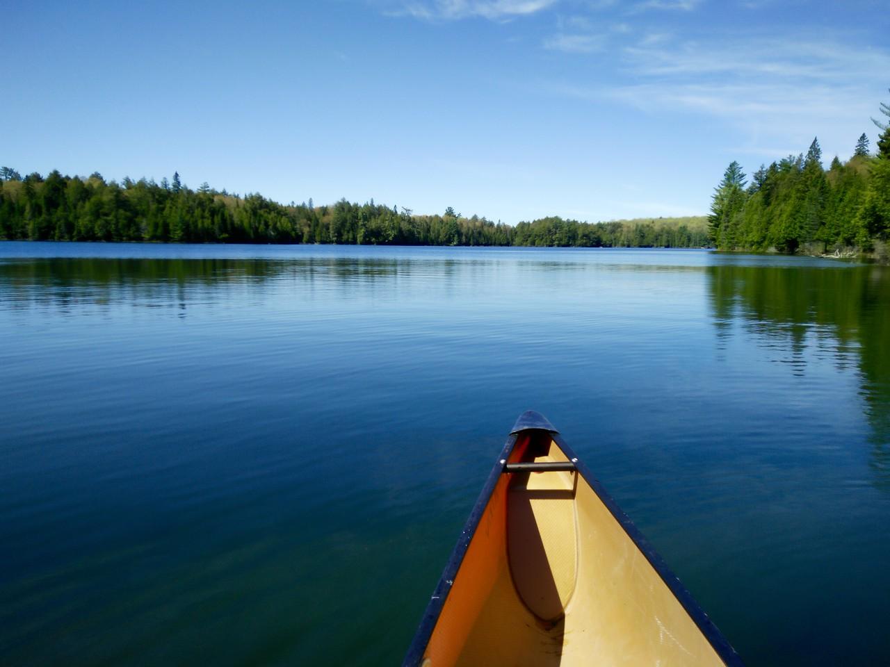 Hambone Lake on my way out
