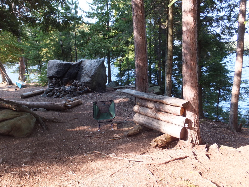 More campsite furniture