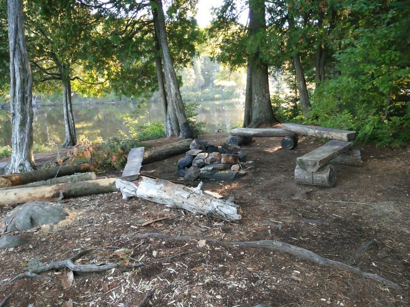 Campfire benches