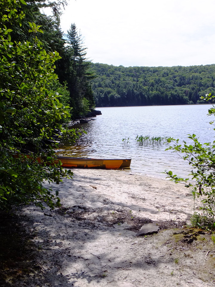 on Big Crow Lake