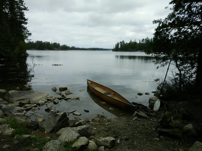 Back on Nym Lake