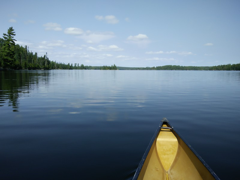 Lovely Burntside Lake