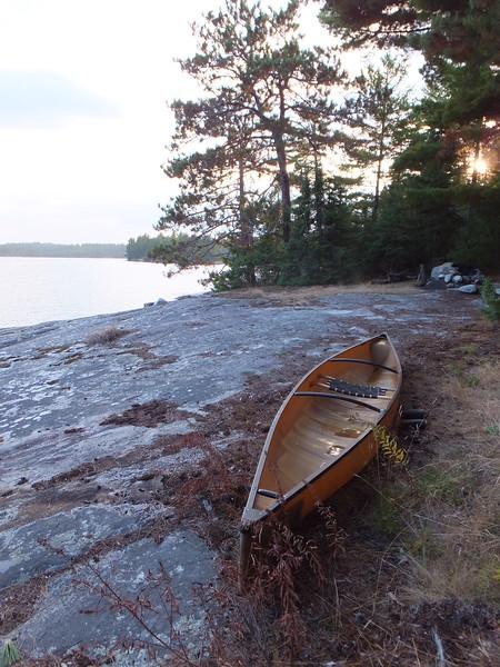 Camp on Jean Lake