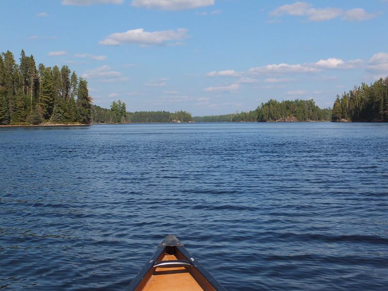 Back to Jesse Lake