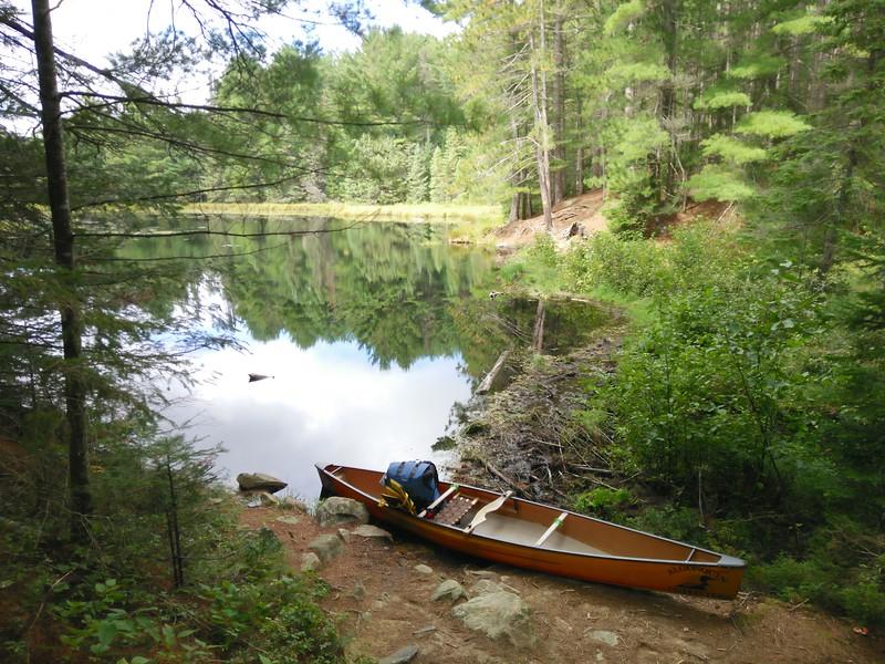 World's shortest canoe journey