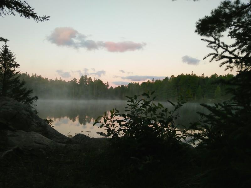 Morning on Bartlett Lake