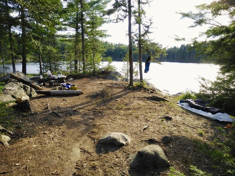 Camp at Bartlett