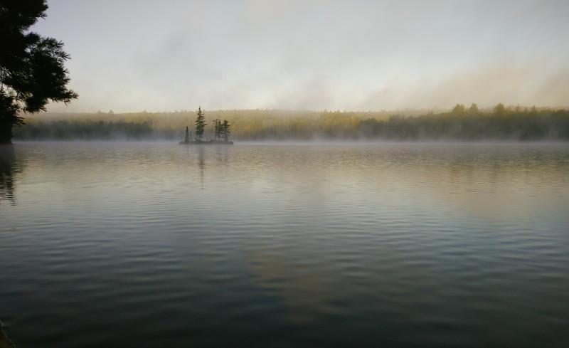 Tom Thomson Lake, 7:35 a.m., Sept 16, 2016