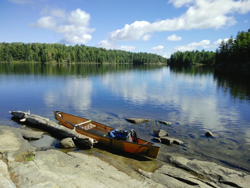 Leaving Sunbeam Lake