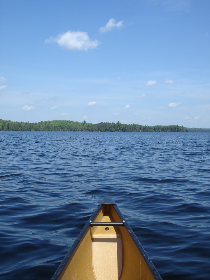 On Canoe Lake
