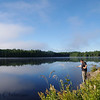 Morning on Little Doe Lake