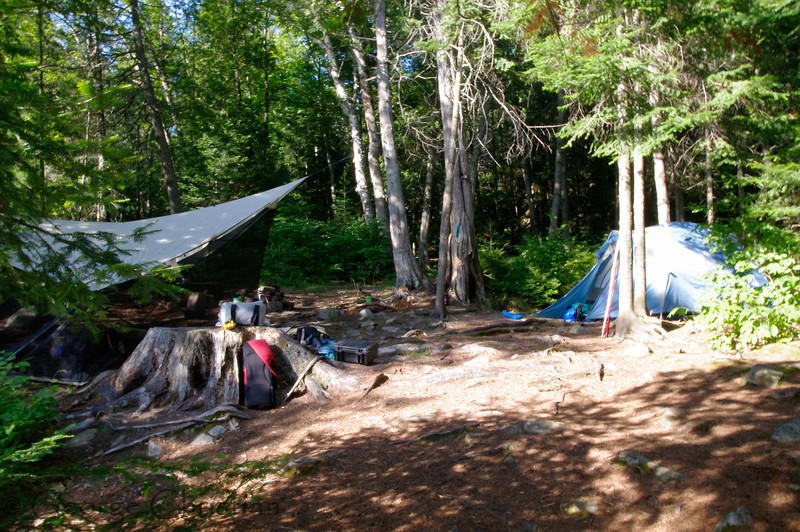 We liked the site on Fawn Lake so much the first time we stayed there on the way back.