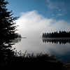 Morning Mist on Little Doe Lake