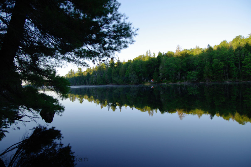 Morning on Fawn Lake<br />