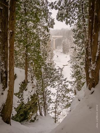 Elora Gorge / Irvine River Winter Walk 2016