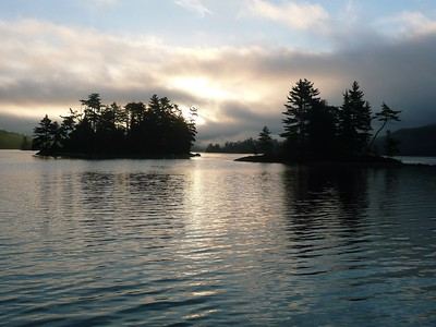Morning on OSA Lake