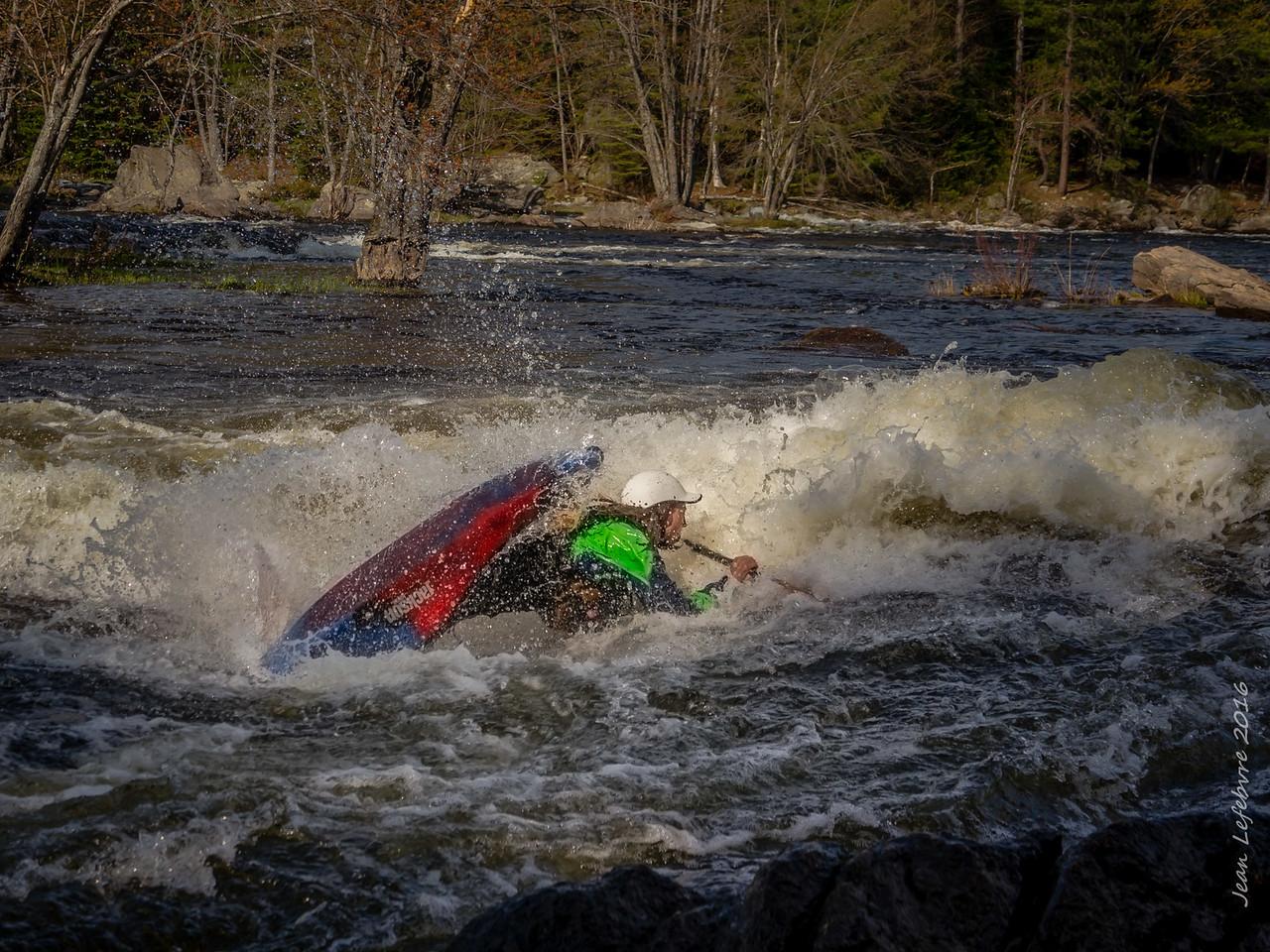 Kayaker Contortions!