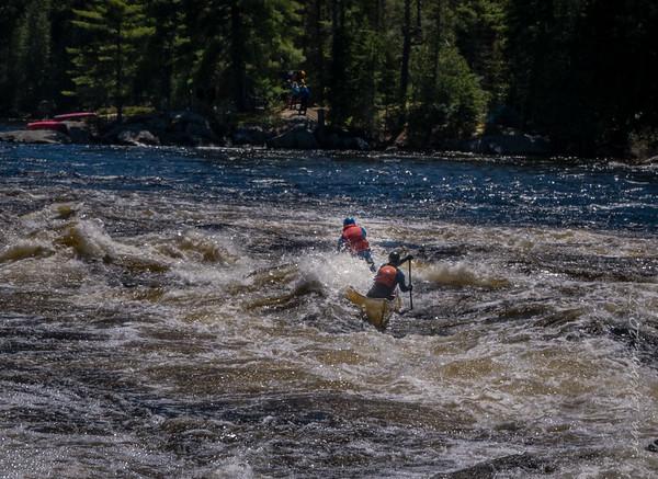 Madawaska river, Rifle Chute