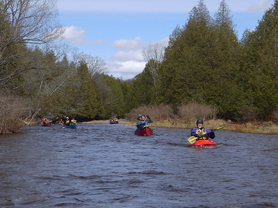 Saugeen River Priceville to Durham April 2017