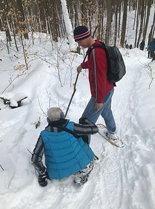 Columbia Forest Snowshoe - March 2020