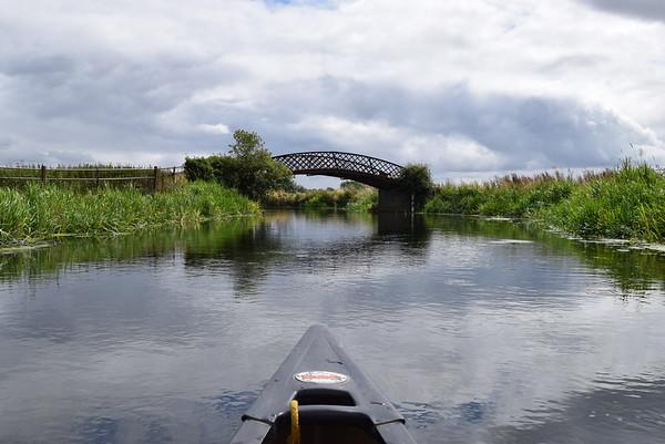 Canoeing River Nene with Canoe2