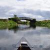 River Nene in Northamptonshire, England
