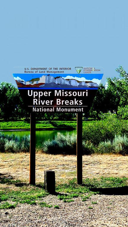 Canoeing the Missouri Breaks, Montana