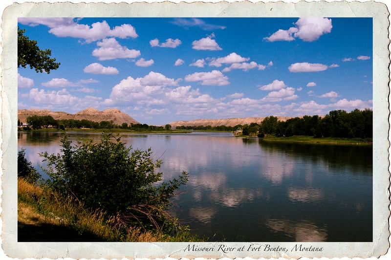 Missouri River at Fort Benton