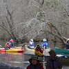 Trying to launch all the boats and find the channel through the swamp!<br /> February 22, 2013