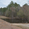 Our planned take-out on the Satilla River after canoeing 9 miles the first day.<br /> Feb. 22, 2013