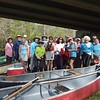 Getting set to launch at the Sharps Ferry put-in on the  Ocklawaha River at Rt. 314 near Silver Springs, Florida.<br /> Monday,<br /> February 20, 2017