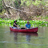 Frieda and Jo setting off on the Ocklawaha River<br /> Friday, February 25, 2011
