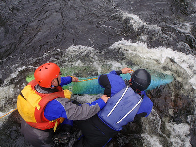 River Safety and Rescue Course 2010