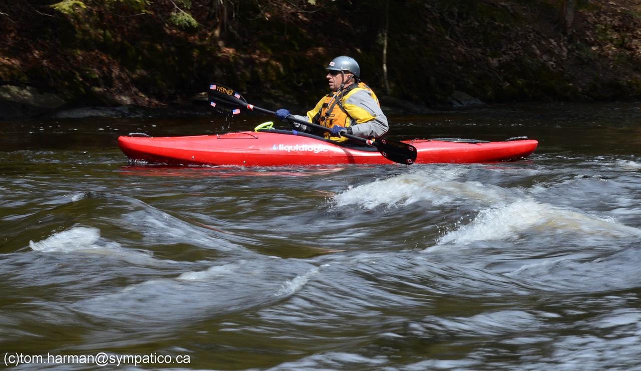 Black River - Washago 09-Apr-11 Photo submitted by Tom Harman