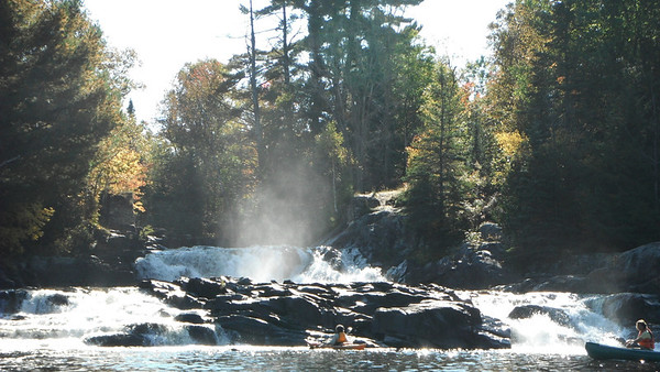 Oxtongue River - Marsh's Falls , September 2011