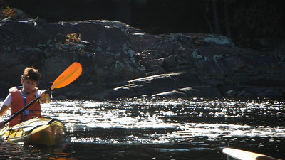 Oxtongue River, Marsh's Falls, September 2011