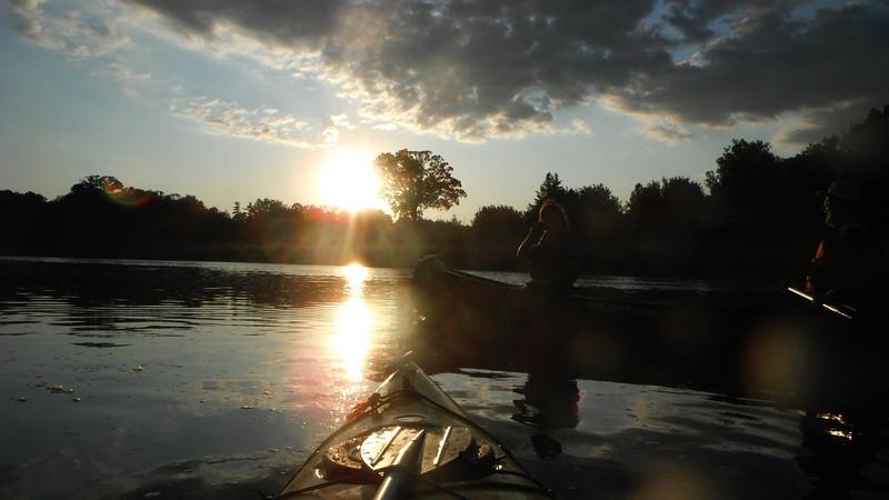Paddling the Grand River: Glen Morris to Paris on August 16, 2011. Waterloo Wellington Canoe Club Activity.