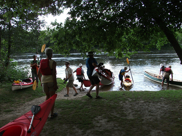 Grand River paddle from Glen Morris to Paris on August 16, 2011. A Waterloo Wellington Canoe Club event.