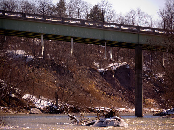 Nith River Early Spring, Photo by Jean Lefebvre