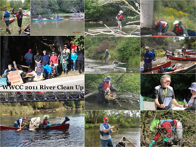 Collage - WWCC 2011 River Clean up Submitted by Judi Thompson