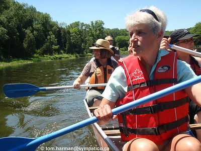 North Canoe Exec Meeting July 2011 Bean Park to Brant Conservation Area Photo by Tom Harman