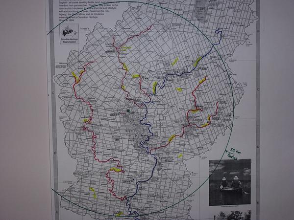 Map 50 km