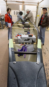 Handcrafted Canoe offered members of the WWCC a 3 hour seminar on how to outfit your canoe or kayak.