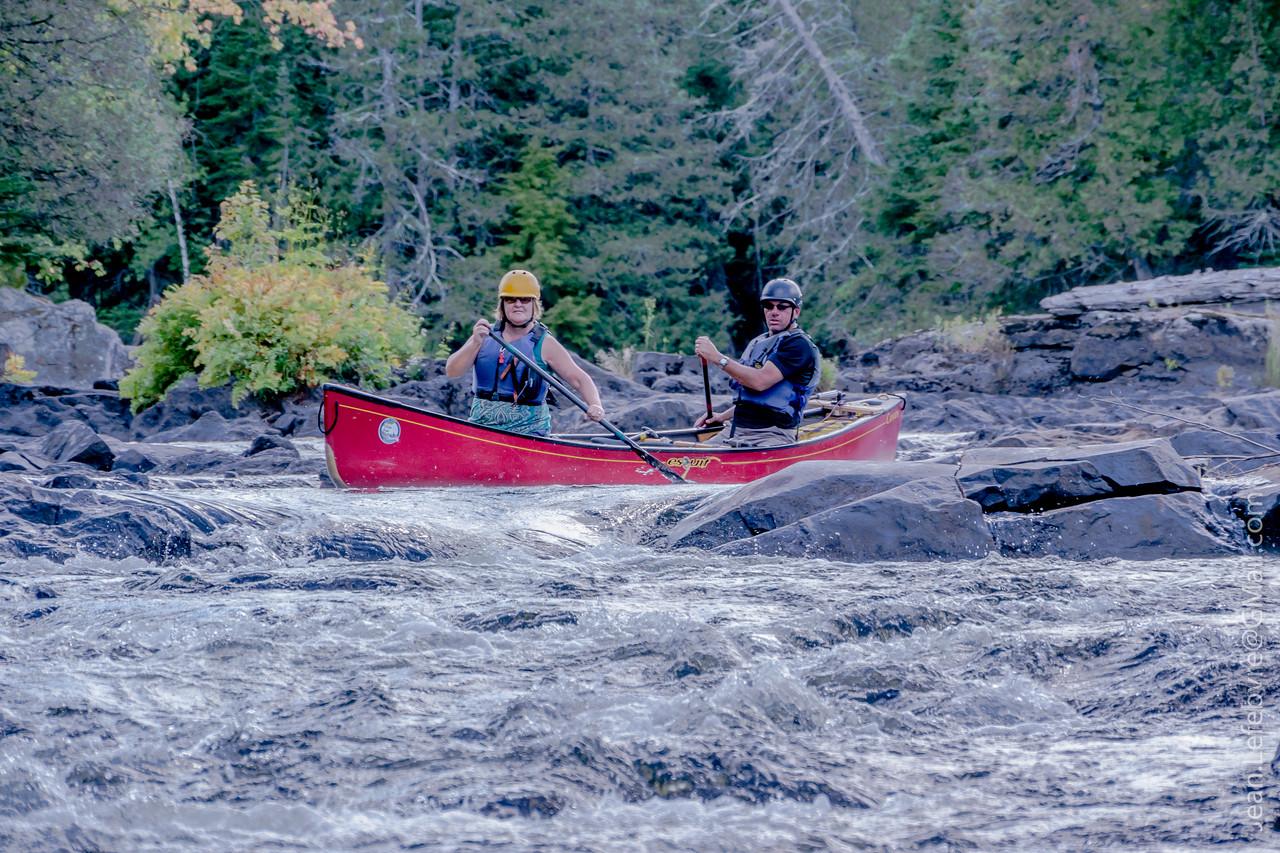 Rock Dodging on the Lower Madawaska River!