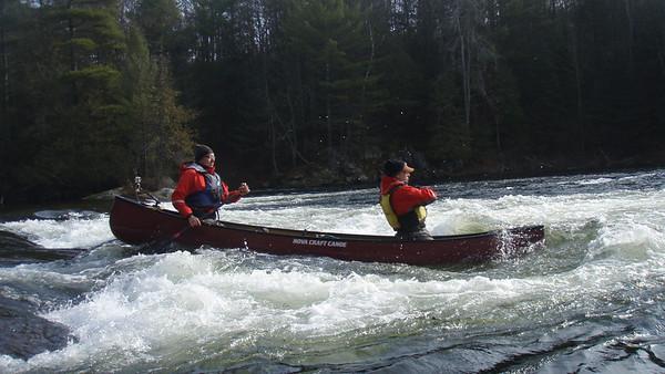 South Muskoka River 18-Nov-12